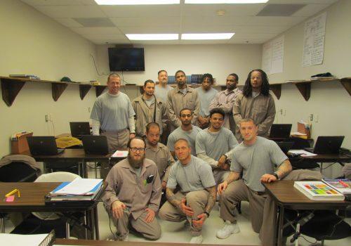 Students in the Prison Education Program